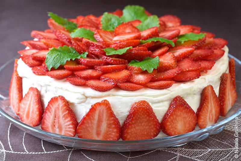 Самый вкусный бисквитный торт рецепт с фото