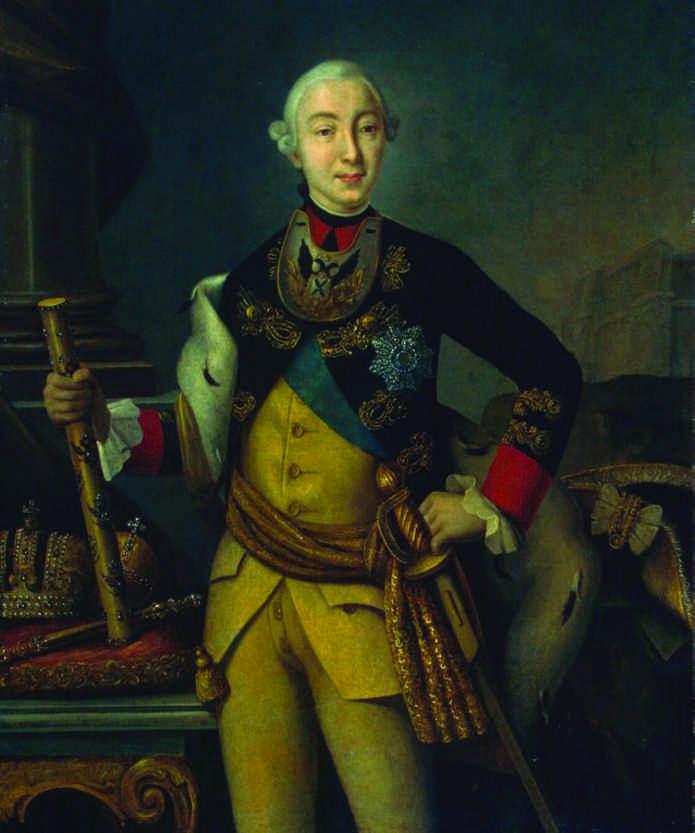 1762 Вступление на престол Петра III Фёдоровича