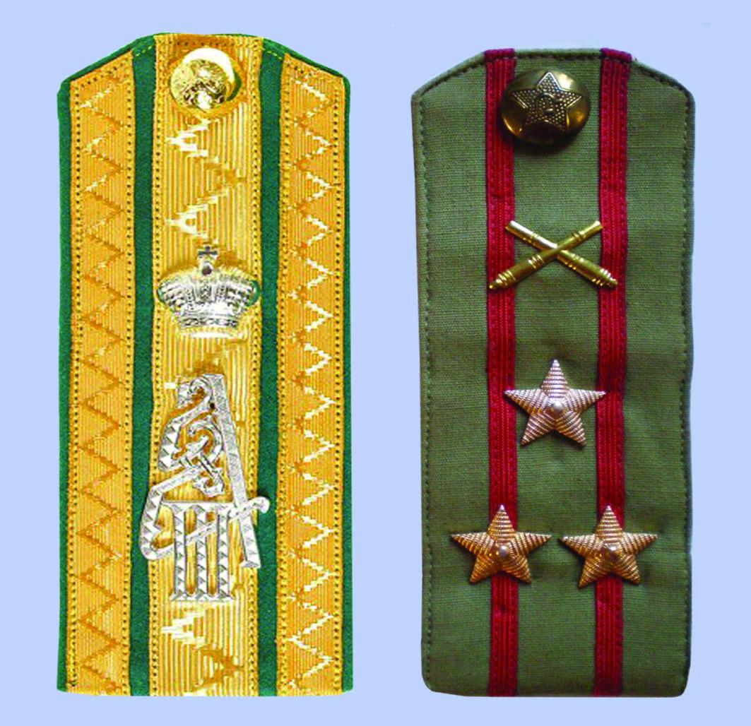 1943 Указ Президиума Верховного Совета СССР о введении новых знаков различия - погон для личного состава Красной Армии