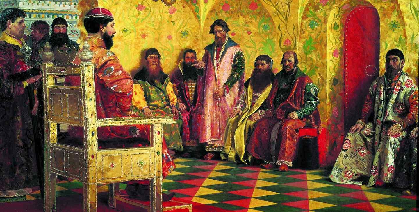 1613 Михаил Романов согласился принять титул русского царя