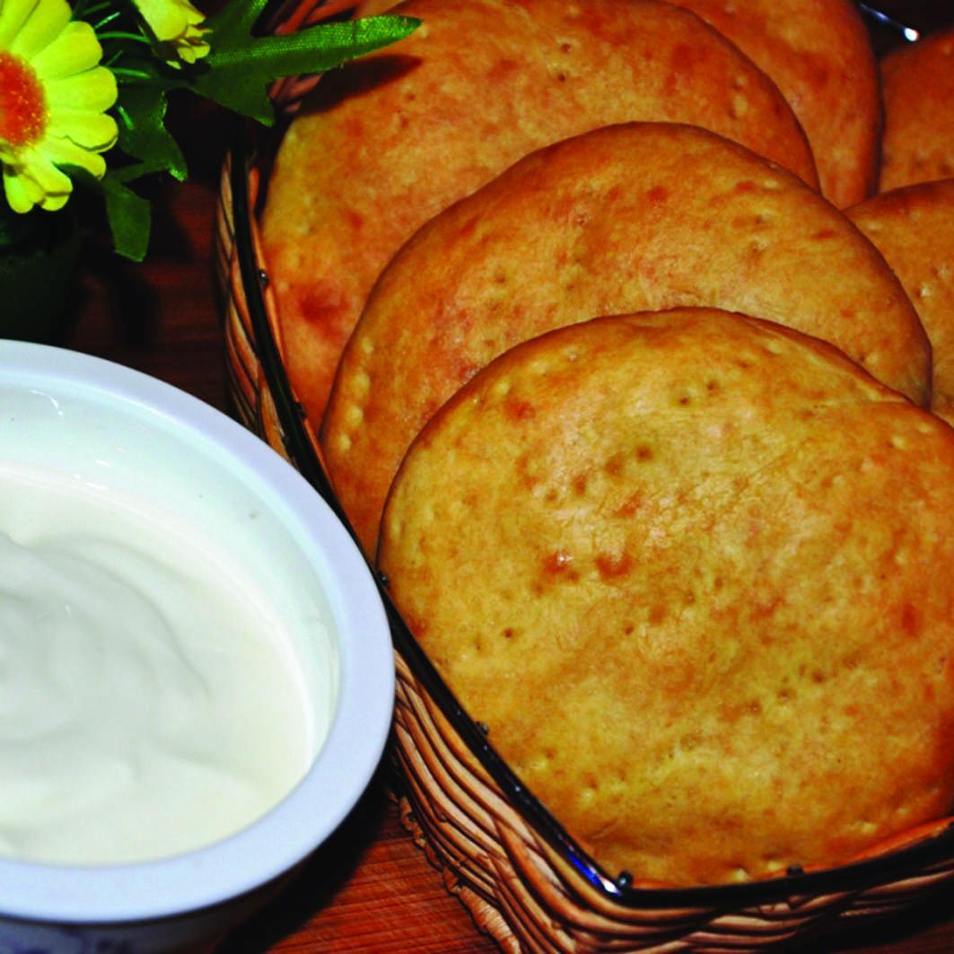 Лепешки с чесноком рецепт пошагово