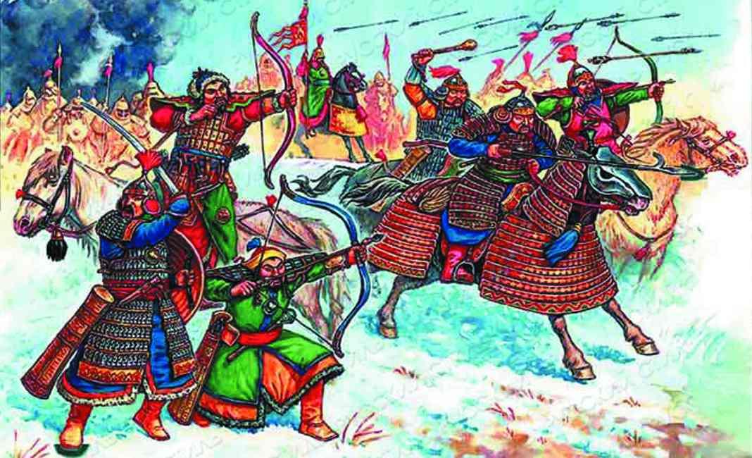 картинки сопротивление русских людей нашествию войск хана батыя
